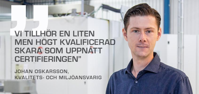 Tooltec Johan Certifiering