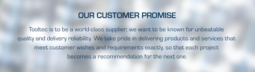 Tooltec customer promise
